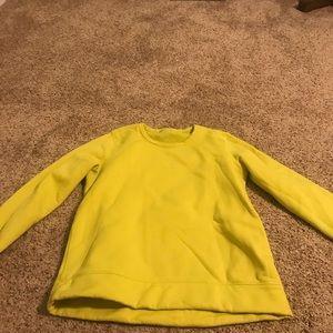Lululemon Fleece sweatshirt